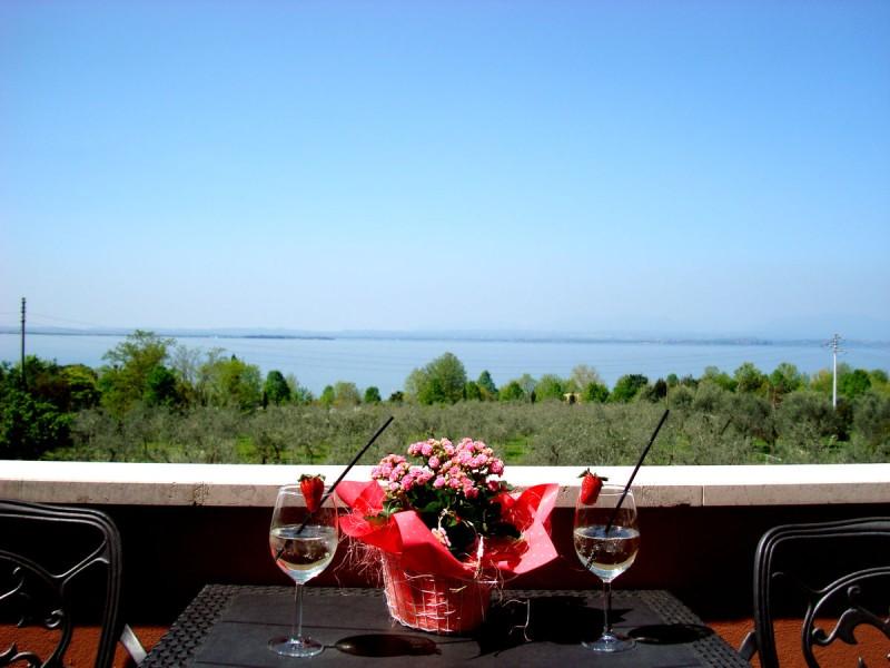 Balcone Vista Lago Hotel Cristina - Lazise