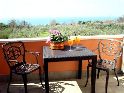 Terrace Garda Sight Hotel Cristina - Lazise